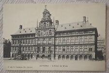"""CPA """" ANVERS - L'Hôtel de Ville"""