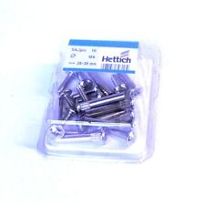 Schrankverbinder Korpusverbinder 28-38 mm Metall M4, 5mm Loch, 10er-Pack #89316