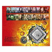 Game of Thrones Clad Medal House Targarygen BU Cover SKU58161