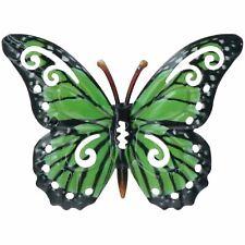 Large Metal Colorido Mariposa Jardín Decoración De Pared Arte-Varios Diseños 35cm
