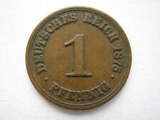 Germany 1875-B 1 Pfennig. #1