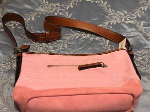 NWT. Pink Coach Purse.