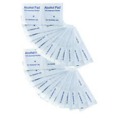 YNR Antibacterial Alcohol Swabs Sachet Pads Antiseptics First Aid Nails CE