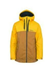 O'Neill David Wise Signature Snowboard Jacket, Men's Medium, Woodchip Brown New
