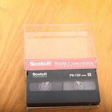 Scotch 8mm P6-120 8mm Video Cassette Camcorder Tape
