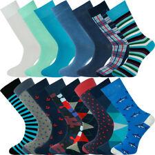 Mysocks Bulk Buy Mens 15 Pairs Multi Patterned Socks