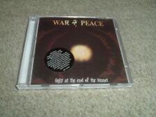 WAR & PEACE - LIGHT AT THE END - CD ALBUM - BRAND NEW - DOKKEN / JEFF ILSON