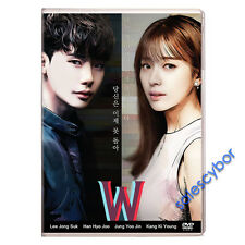 W - Two Worlds Korean Drama (4 Dvd) Excellent English Subs & Quality.