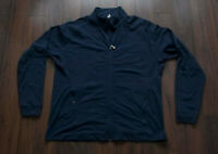 Lululemon Athletic Jacket Blue Zip Size XXL *F0213a7