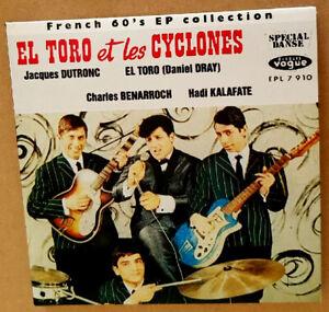 Rare CD El Toro Et Les Cyclones - Jacques Dutronc