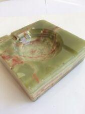 ONYX marble ash tray - Elegant Green ash tray