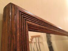 New listing c1880 Huge Antique Killer Tiger Oak Carved Vintage Mirror Bedroom, Dining Room.