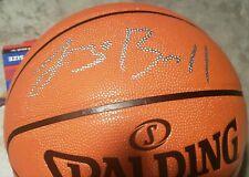 LONZO BALL Auto Autograph (Silver) Spalding Game Ball Series Basketball Panini