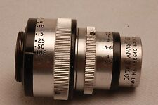 RARE TAYLOR HOBSON 1.5 INCH F3.5 COOKE ANASTIGMAT movie LENS D Mount #472510