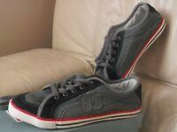 chaussures basket toile derbies NEUVE 38 bleu gris ENVOI OFFERT