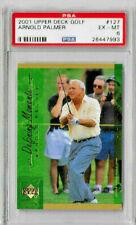 2001 Upper Deck Golf Arnold Palmer PSA 6 Defining Moments