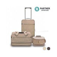 3 pieces Unisex Adult Expandable Luggage Sets