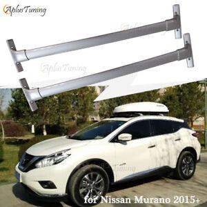 Fit for Nissan Murano 2015 2016 2017 2018 2019 Cross Bars Roof Rack Aluminum