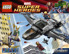 LEGO 6869 Marvel Superheroes, Quinjet Aerial Battle Set, New and Factory Sealed