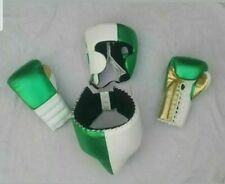 """New Customized Shiny Leather Boxing Gloves Any """"Reg"""" Brand Logo or Name No Grant"""