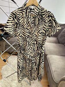 Yumi Zebra Print Ladies Size 10