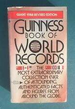 Guinness Book of World Records 1988 Giant Revised Edition Vintage Paperback EUC