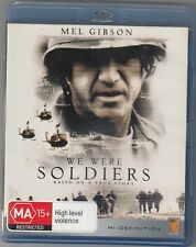 We Were Soldiers    Blu ray  region B very good used condition