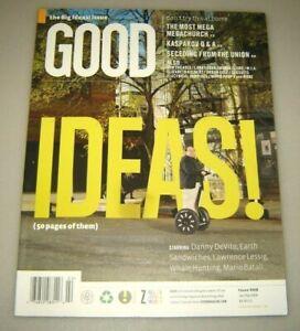 GOOD magazine #8 Jan/Feb 2008 education,urban planning,design,politics,culture