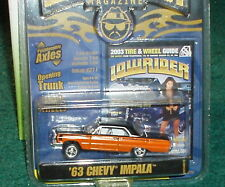 REVELL 1963 CHEVY IMPALA SS HARDTOP LOWRIDER 1/64 ADJUSTABLE AXLES