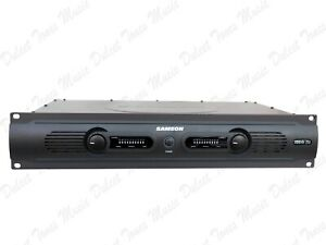 Samson Servo 200 Watt Rack Mounted Studio Power Amplifier *FAST DISPATCH*