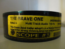THE BRAVE ONE (2007) 35mm Movie Trailer #1 collectible, cells SCOPE  2min 30sec