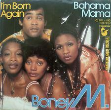 "7"" 1979 MINT-! BONEY M. : I´m Born Again + Bahama Mama"