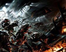 Dark Horse Comics Comic Book Artwork Alien vs Predator Fine Art Giclée on Canvas