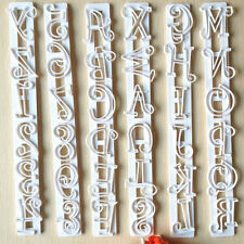 Alphabet Number Letter Cutter Cake Cookie Pastry Embossed Stamp Tool Mold Hot