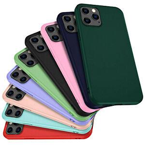COVER per iPhone 12 Pro Max Mini Custodia TPU Slim Silicone Vetro Temperato 9H