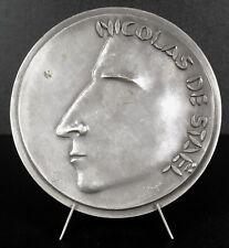 Medaille Nicolas de Staël von Holstein peintre num 26/100 sc Étienne HAJDU medal