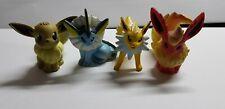 """Pokemon TOMY 2"""" figures EEVEE,VAPOREON,JOLTEON,FLAREON RARE! FREESHIP!"""