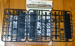 Central Valley HO #1000 (Floors & Frames) Plastic Parts (NEW)