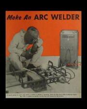 Arc Welder 110 volt HowTo build PLANS use junk Battery Charger