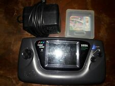 Sega Game Gear Console with Game ac adapter