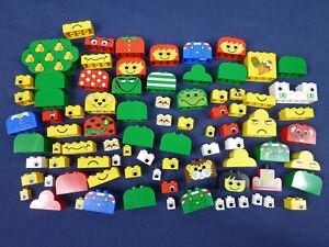LEGO® 85x Stein Formstein bedruckt Gesicht Apfel Baum Auge Motiv 4744