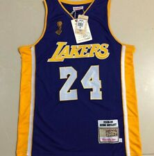 Kobe Bryant LOS ANGELES LAKERS Lakers 24# Basketball Jerseys purple embroidery