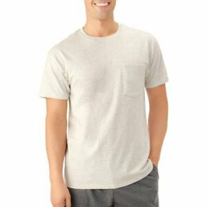 New Fruit of The Loom Men's Platinum Eversoft Pocket Shirts / S-2XL / 10+ Colors