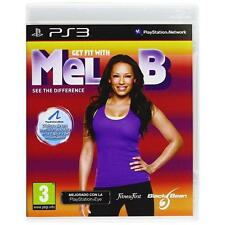 ★►ps3◄ juego Get Fit with Mel B Bundle◄sony Playstation►game Sports Play PAL