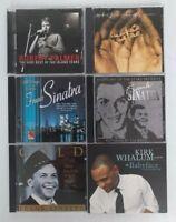 Jazz Infused CDs: Frank Sinatra, Robert Palmer, Kirk Whalum, M. Franks Lot of 6