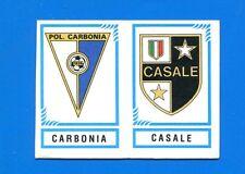 CALCIATORI PANINI 1982-83 Figurina-Sticker n. 566 - CARBONIA-CASALE SCUDETTO-New