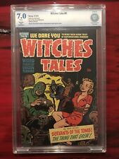 Witches Tales #6 CBCS Restored 7.0 Small Color Touch PCH Pre Code Horror Not CGC