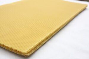 100% Australian Wax Foundation Sheet Bee Hive Beehive Beekeeping Candle Frame