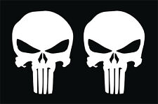 2 PEGATINAS - STICKER - VINILO - VINYL - AUFKLEBER - THE PUNISHER - Adhesivi