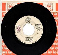 ELTON JOHN  GENOVA & STEFFAN POOH disco 45 giri  made in ITALY Promo JUKE BOX 75